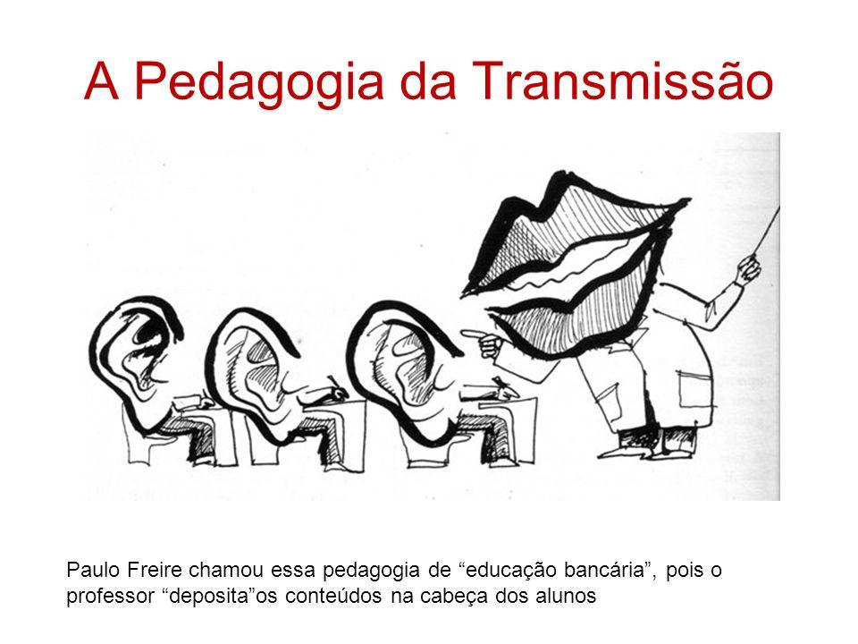 A Pedagogia da Transmissão