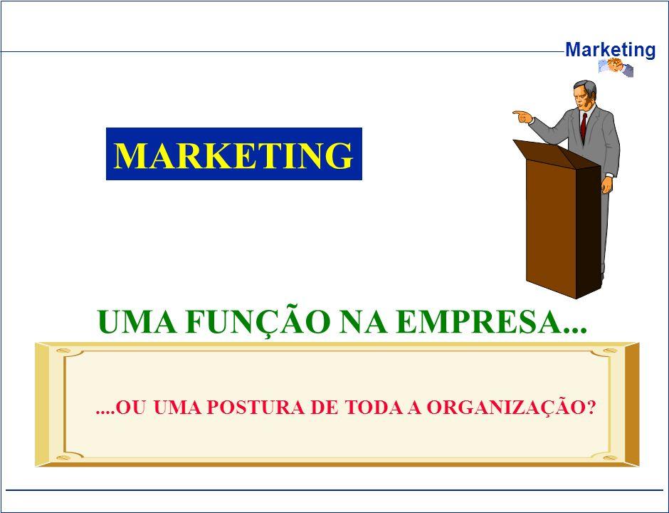 MARKETING UMA FUNÇÃO NA EMPRESA...