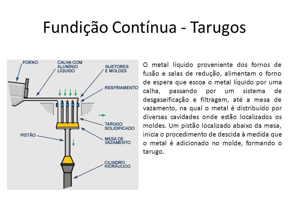 Fundição Contínua - Tarugos