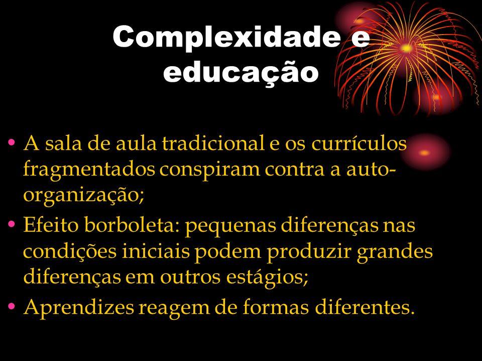 Complexidade e educação