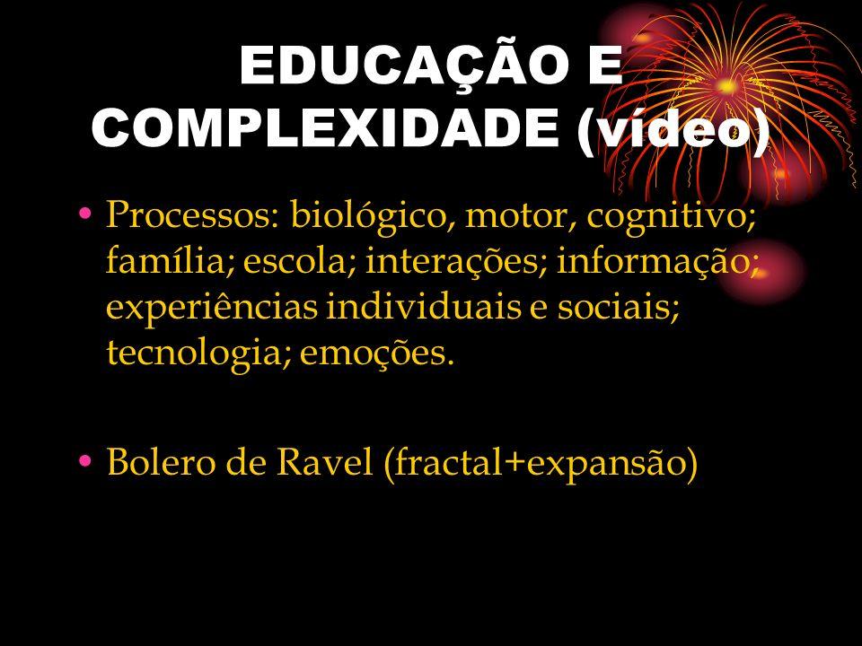 EDUCAÇÃO E COMPLEXIDADE (vídeo)