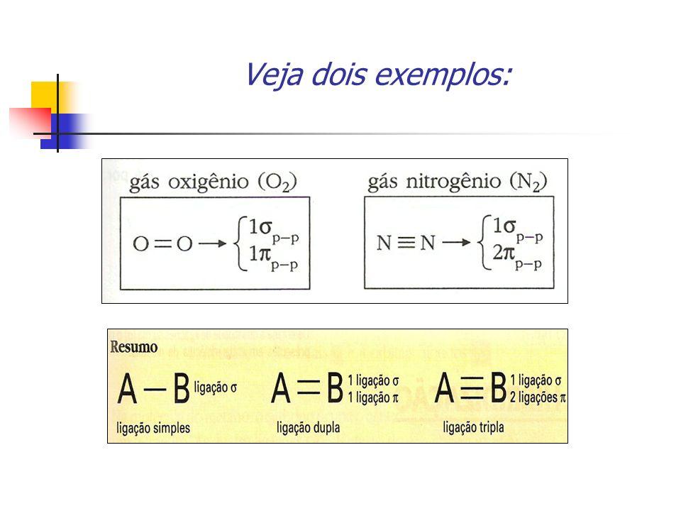Veja dois exemplos:
