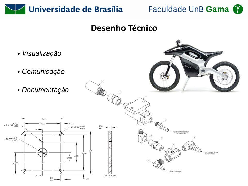 Desenho Técnico • Visualização • Comunicação • Documentação