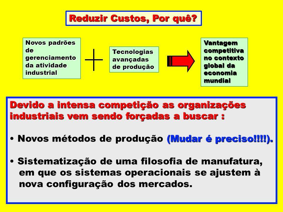 Novos métodos de produção (Mudar é preciso!!!!).