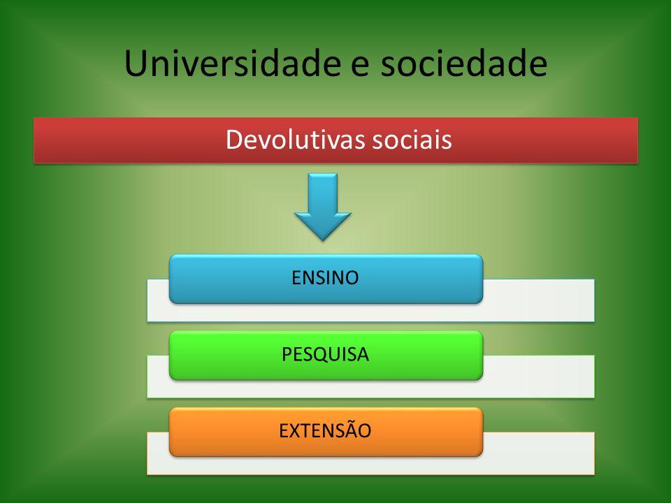 Universidade e sociedade