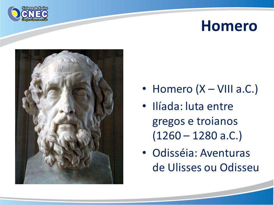 Homero Homero (X – VIII a.C.)