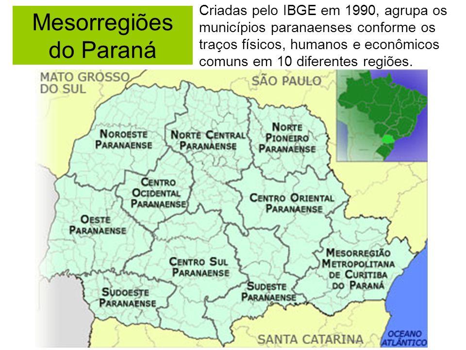 Mesorregiões do Paraná