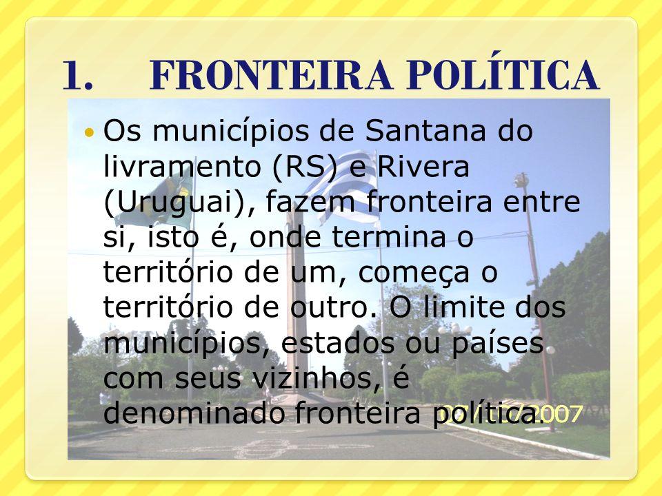 1. FRONTEIRA POLÍTICA