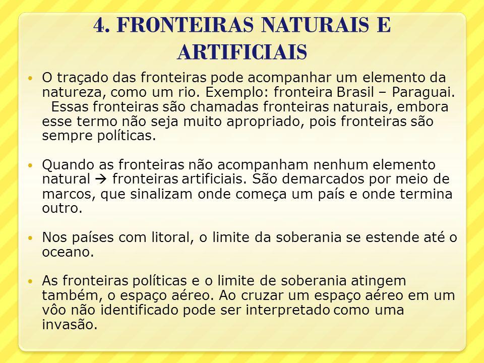 4. FRONTEIRAS NATURAIS E ARTIFICIAIS