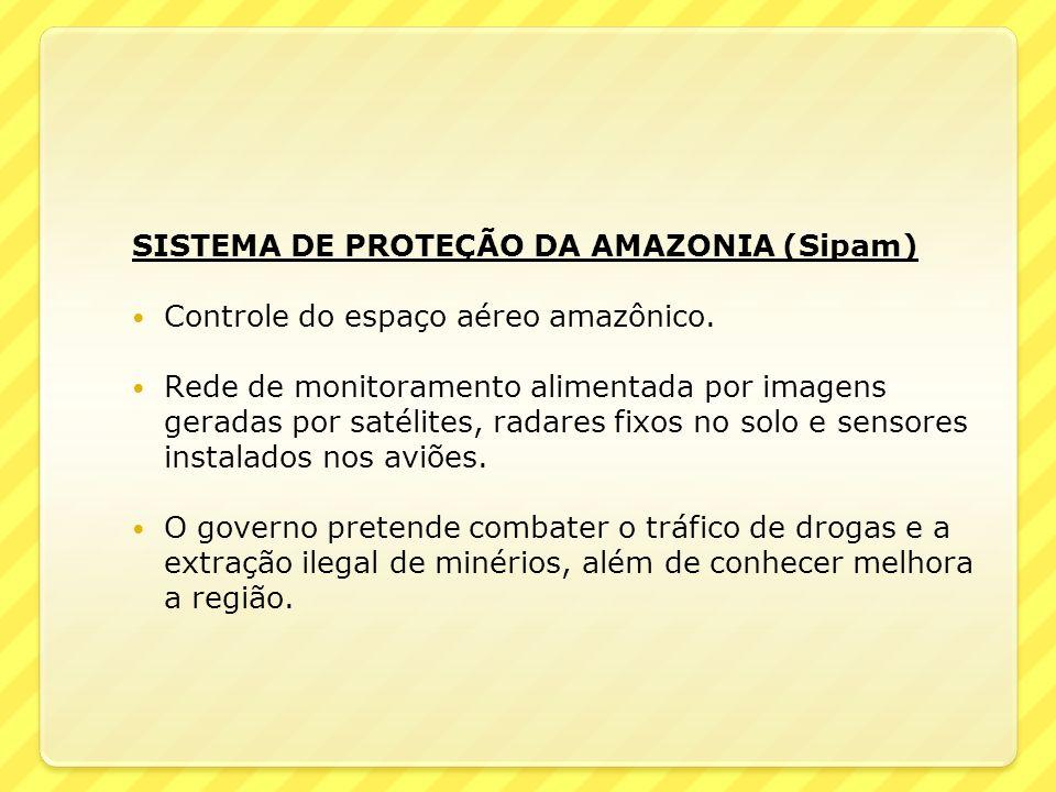 SISTEMA DE PROTEÇÃO DA AMAZONIA (Sipam)