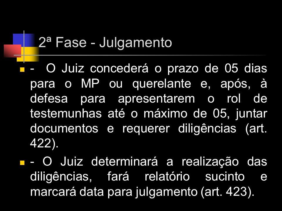 2ª Fase - Julgamento