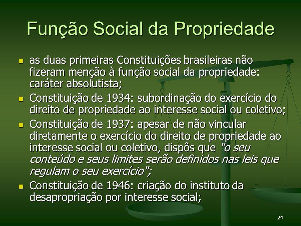 Função Social da Propriedade