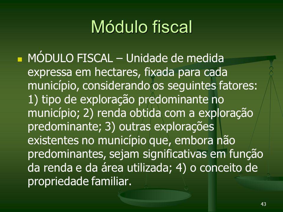 Módulo fiscal