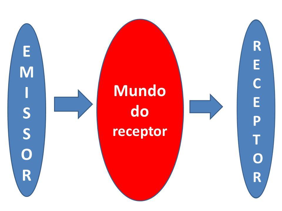 Mundo do receptor E M I S O R