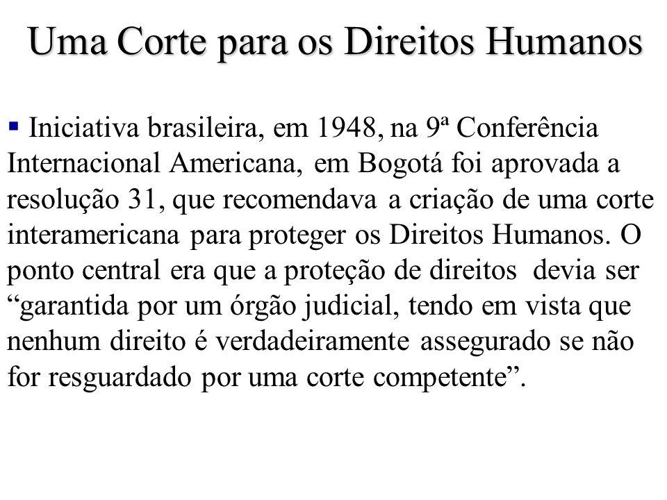 Uma Corte para os Direitos Humanos