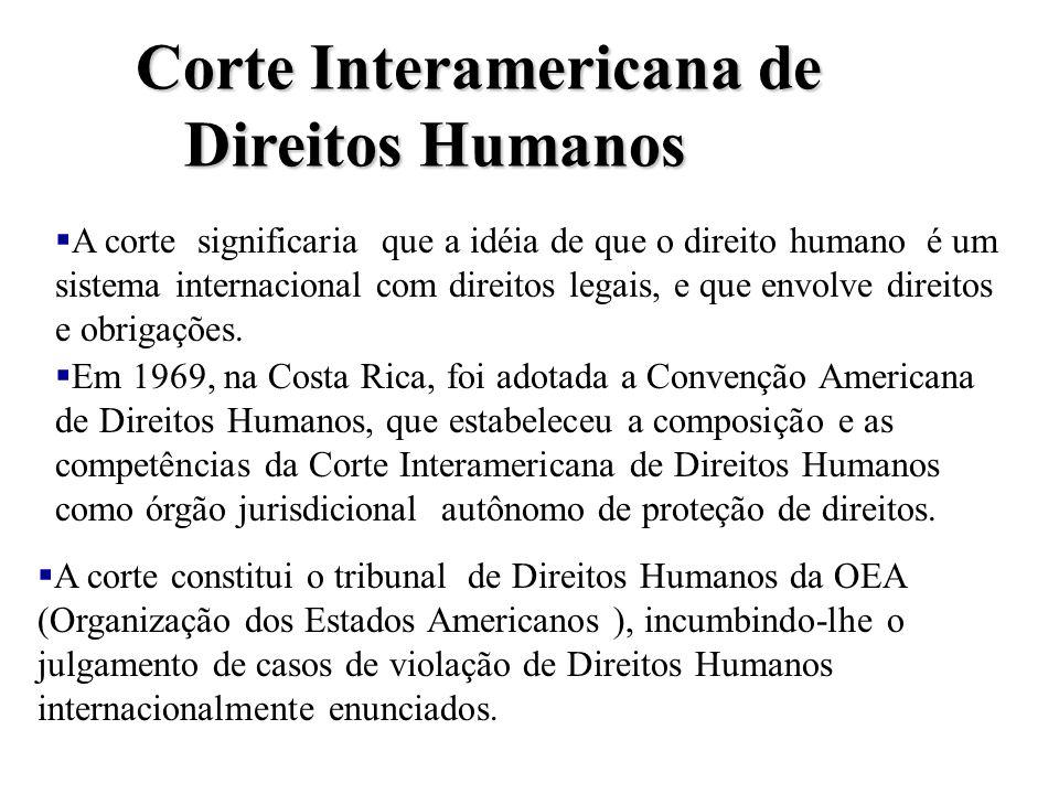 Corte Interamericana de Direitos Humanos