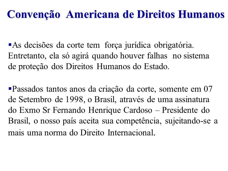 Convenção Americana de Direitos Humanos