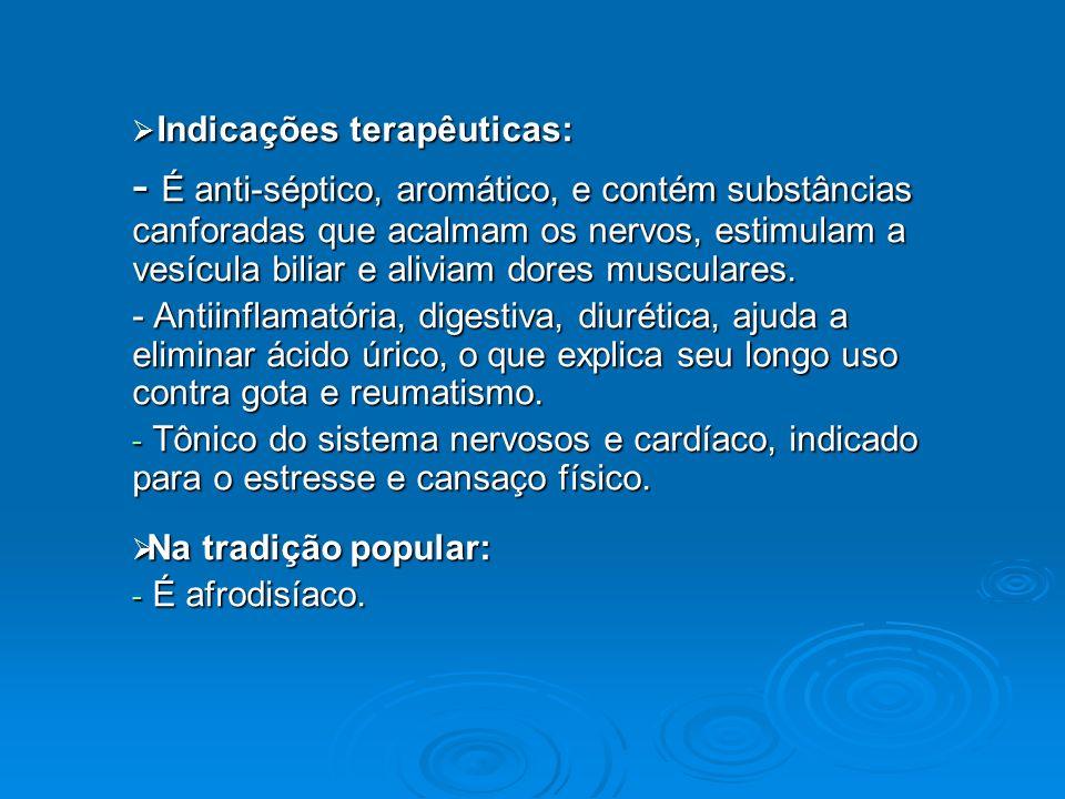 Indicações terapêuticas: