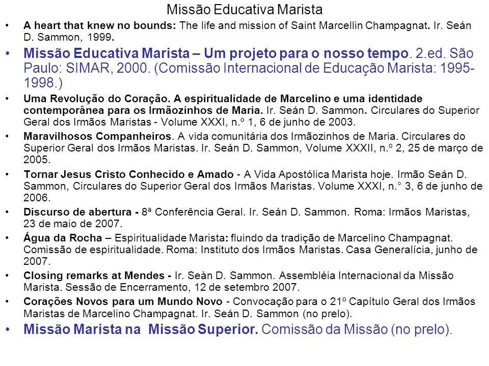 Missão Educativa Marista