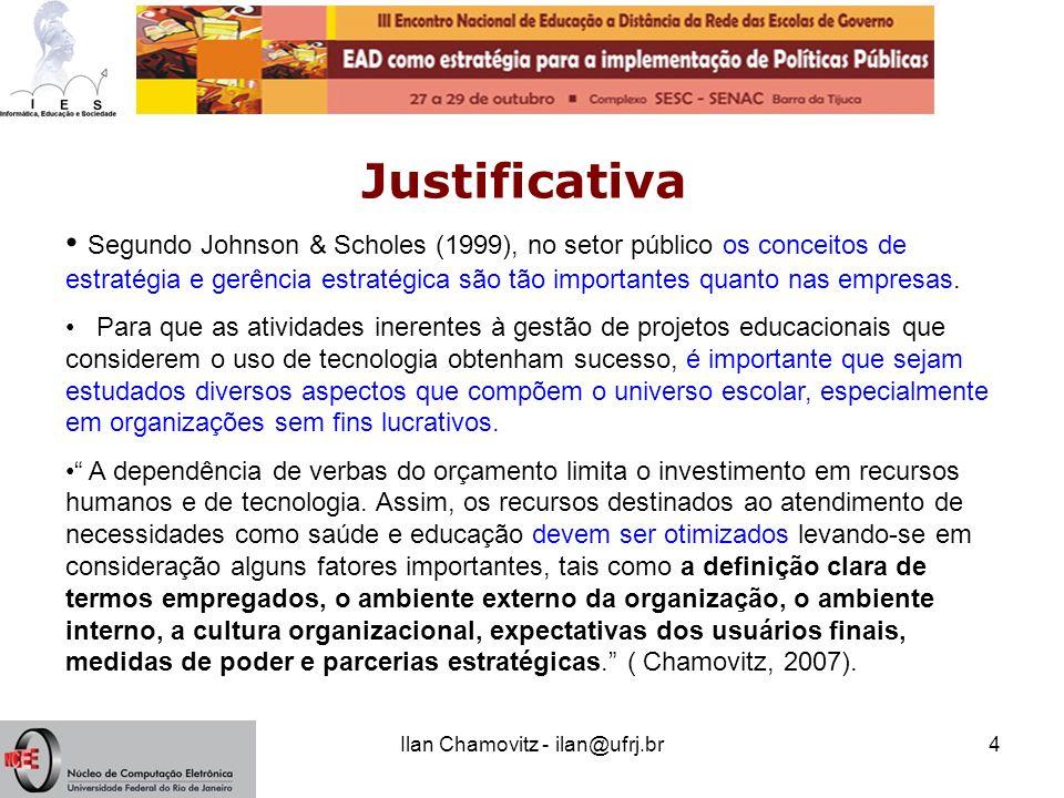 Ilan Chamovitz - ilan@ufrj.br