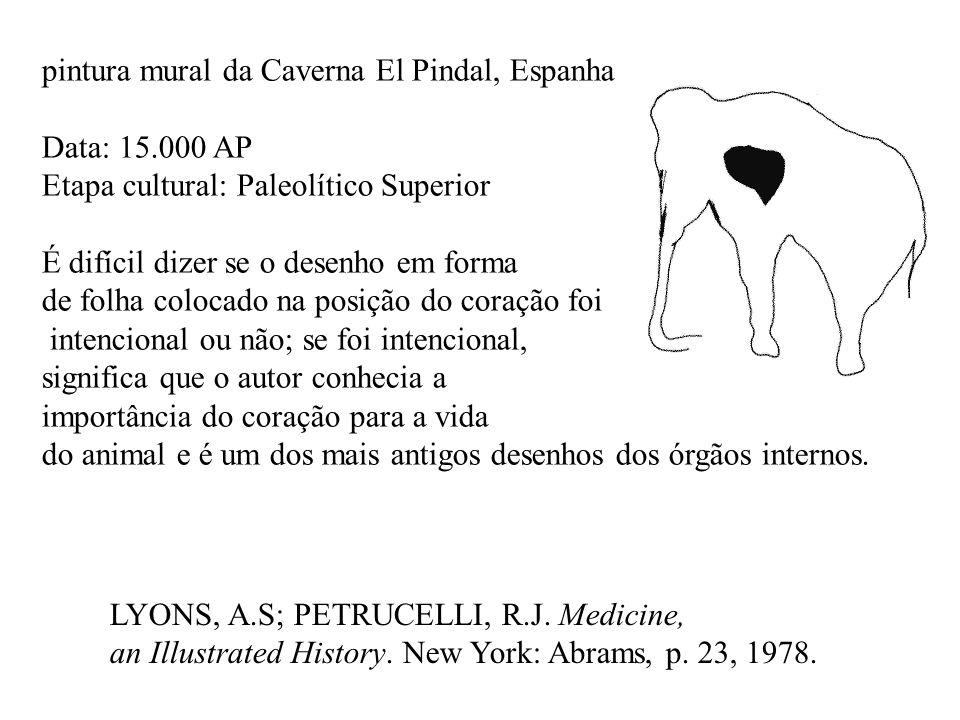 pintura mural da Caverna El Pindal, Espanha Data: 15