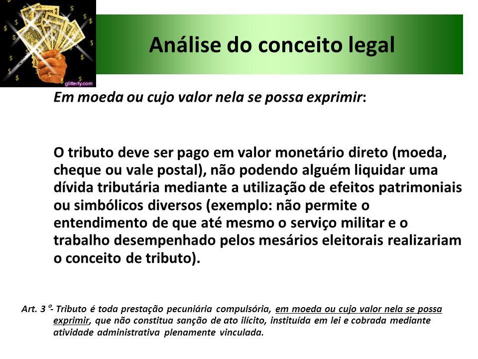 Análise do conceito legal