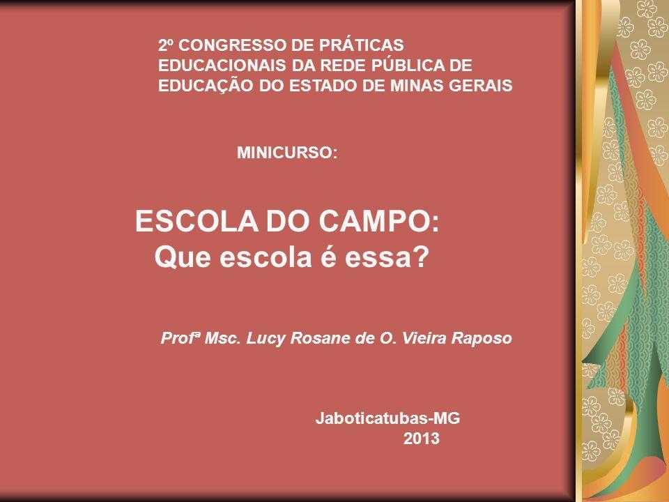 Profª Msc. Lucy Rosane de O. Vieira Raposo