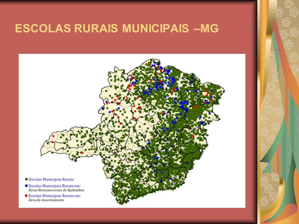 ESCOLAS RURAIS MUNICIPAIS –MG
