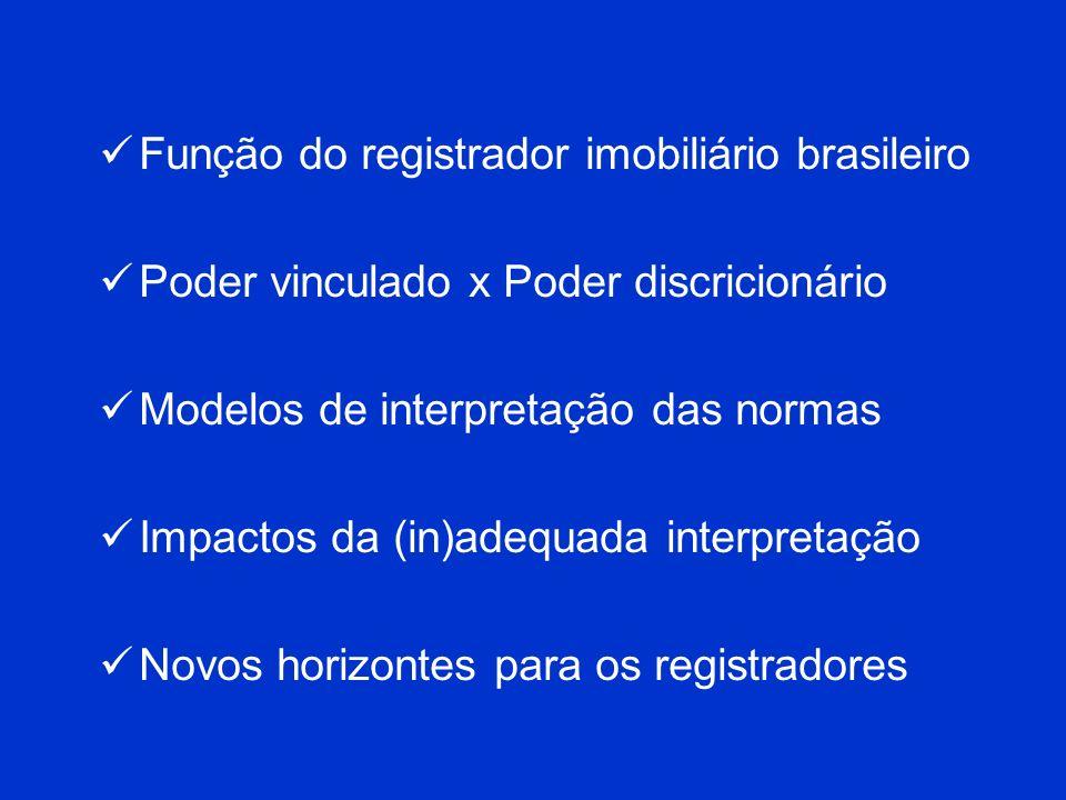 Função do registrador imobiliário brasileiro
