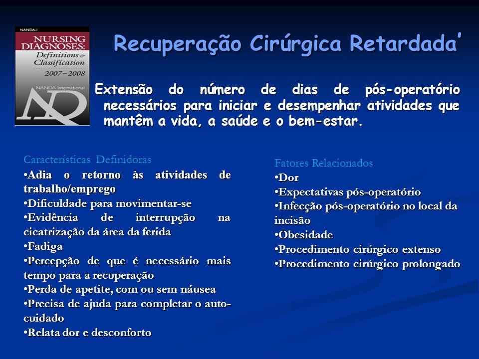 Recuperação Cirúrgica Retardada'