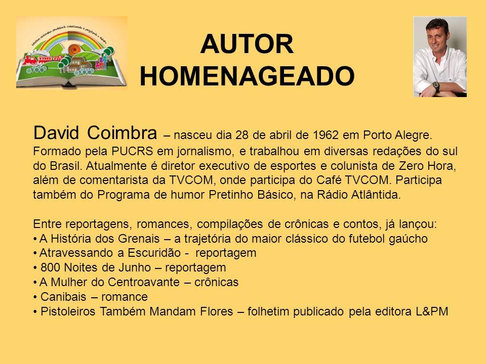 AUTOR HOMENAGEADO.