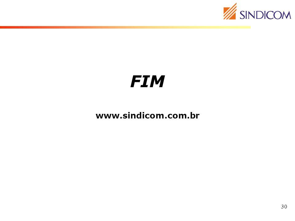 FIM www.sindicom.com.br