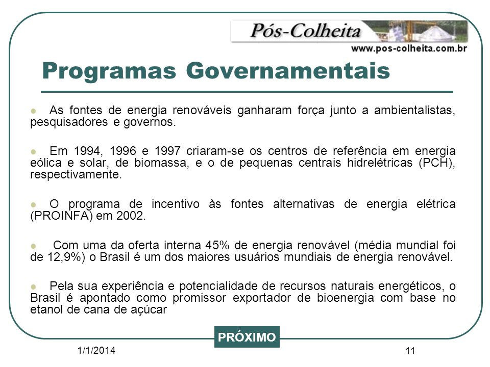 Programas Governamentais