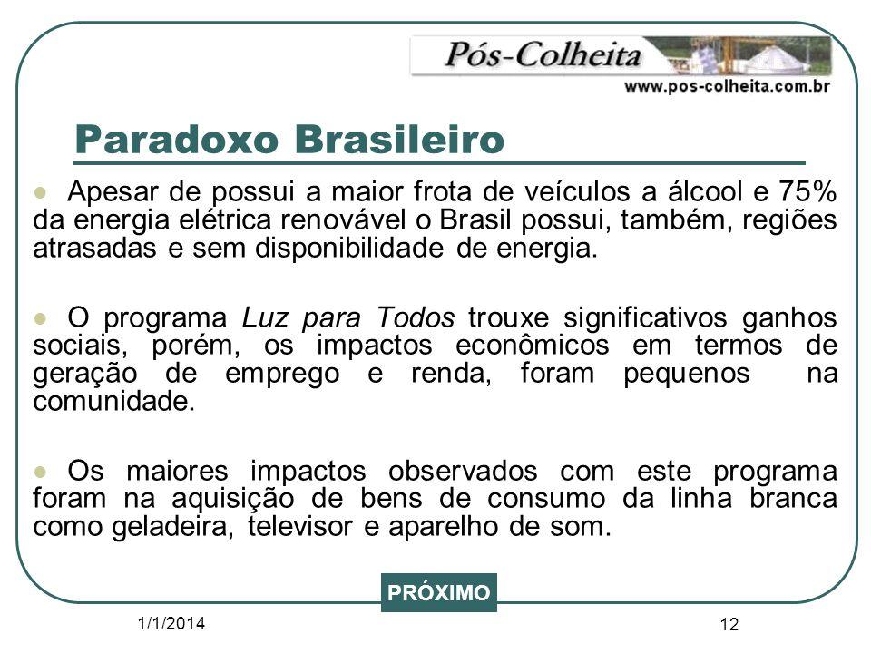 Paradoxo Brasileiro
