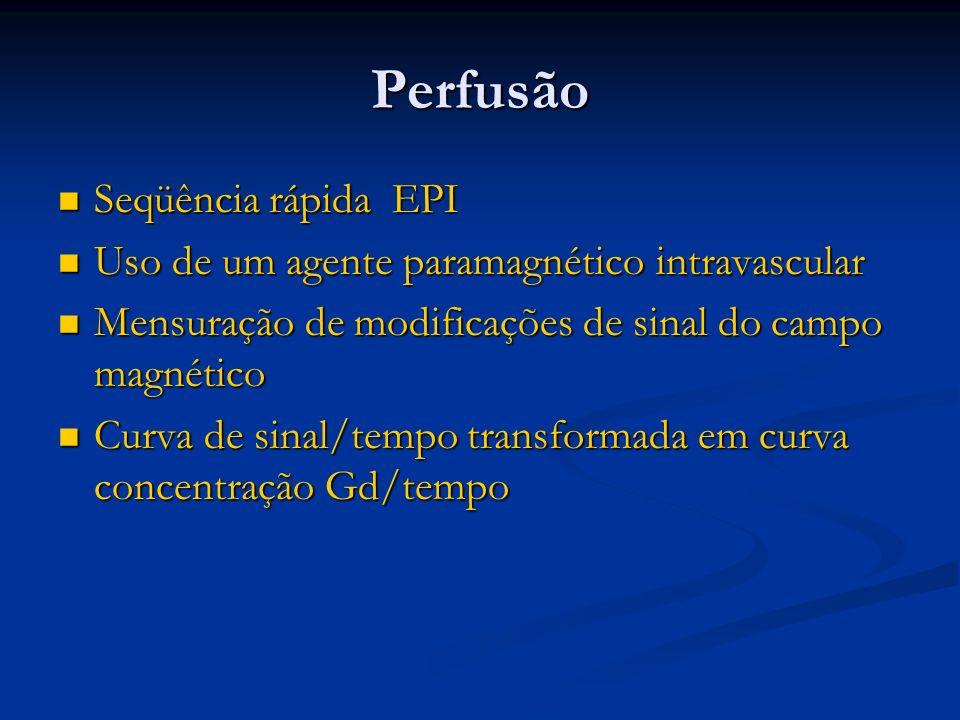 Perfusão Seqüência rápida EPI