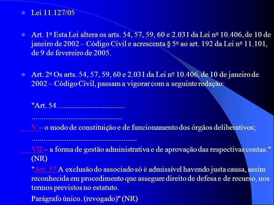 Lei 11.127/05