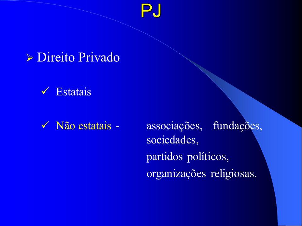 PJ Direito Privado Estatais