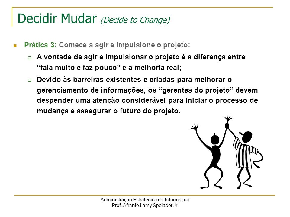 Decidir Mudar (Decide to Change)