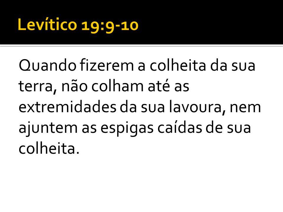 Levítico 19:9-10
