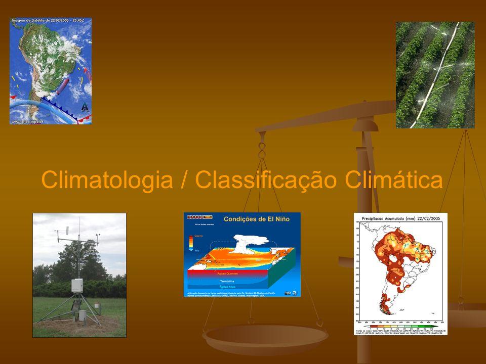 Climatologia / Classificação Climática