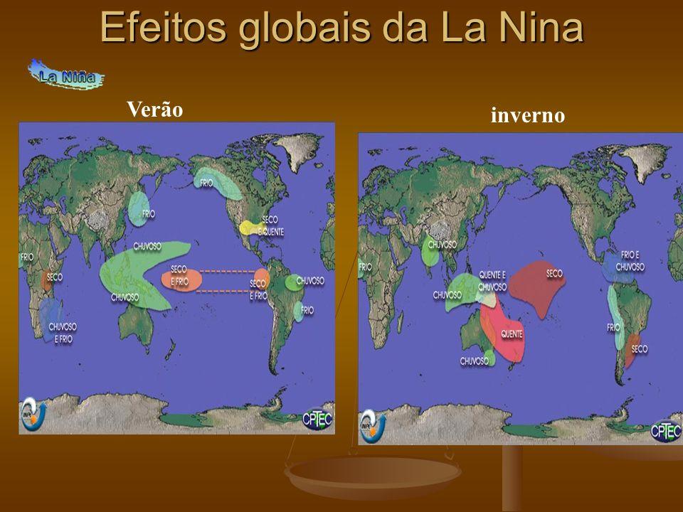 Efeitos globais da La Nina