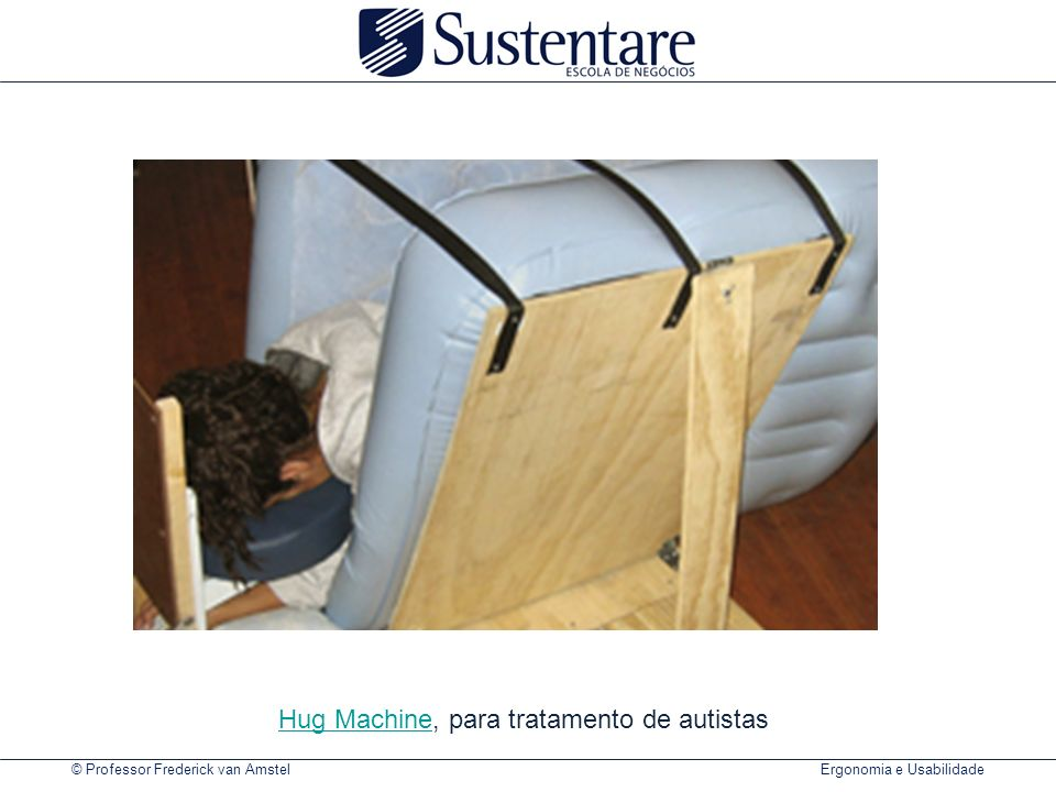 Hug Machine, para tratamento de autistas