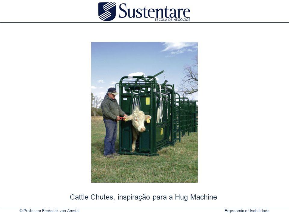 Cattle Chutes, inspiração para a Hug Machine