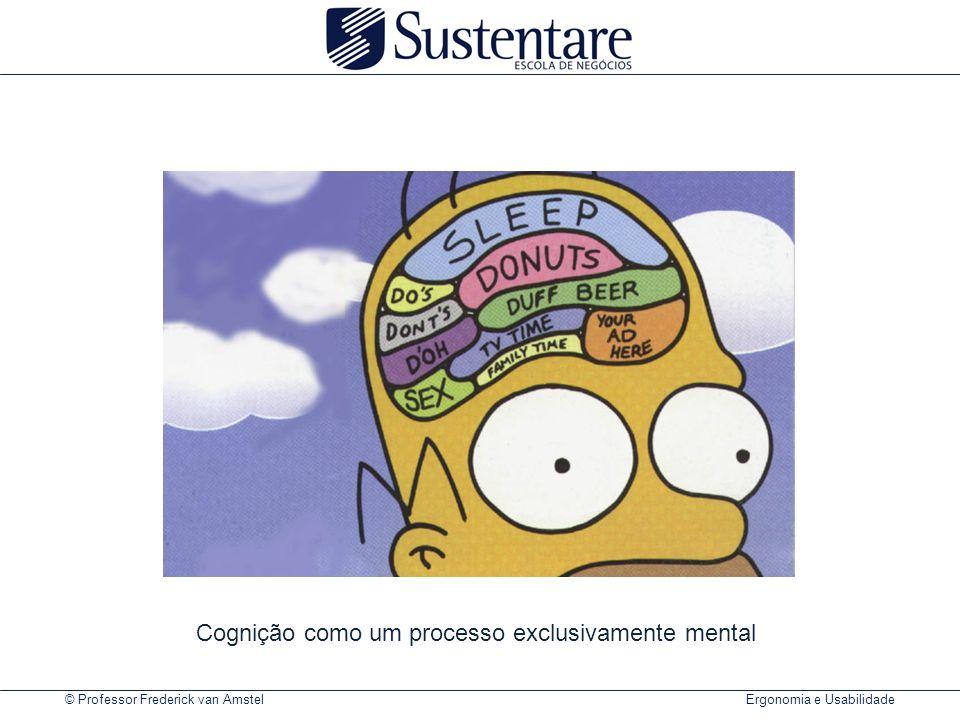 Cognição como um processo exclusivamente mental