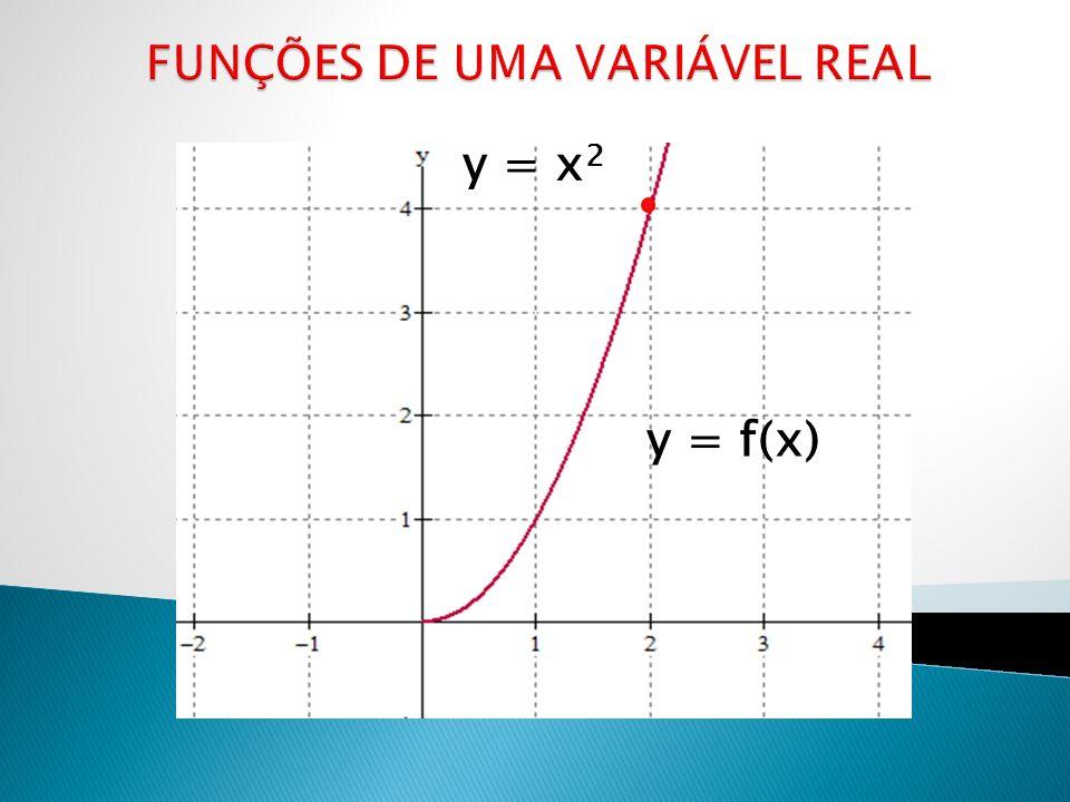 FUNÇÕES DE UMA VARIÁVEL REAL