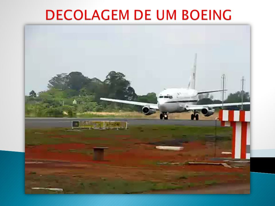 DECOLAGEM DE UM BOEING