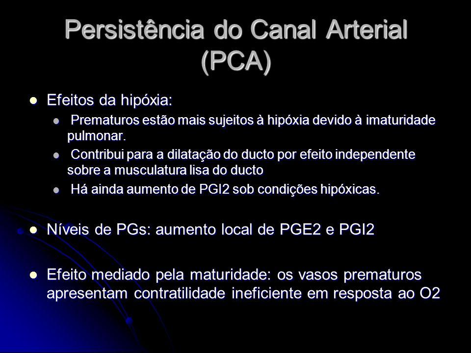 Persistência do Canal Arterial (PCA)
