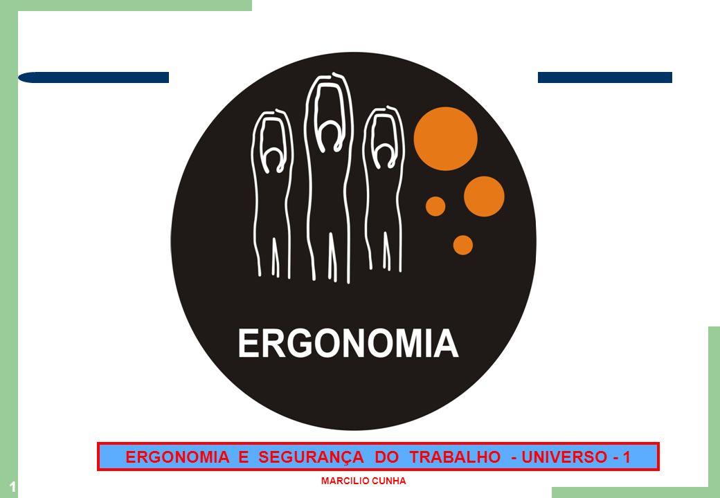ERGONOMIA E SEGURANÇA DO TRABALHO - UNIVERSO - 1