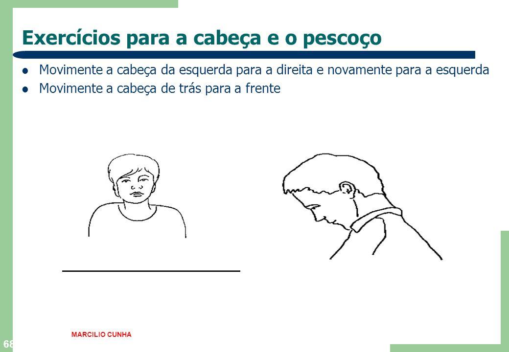 Exercícios para a cabeça e o pescoço