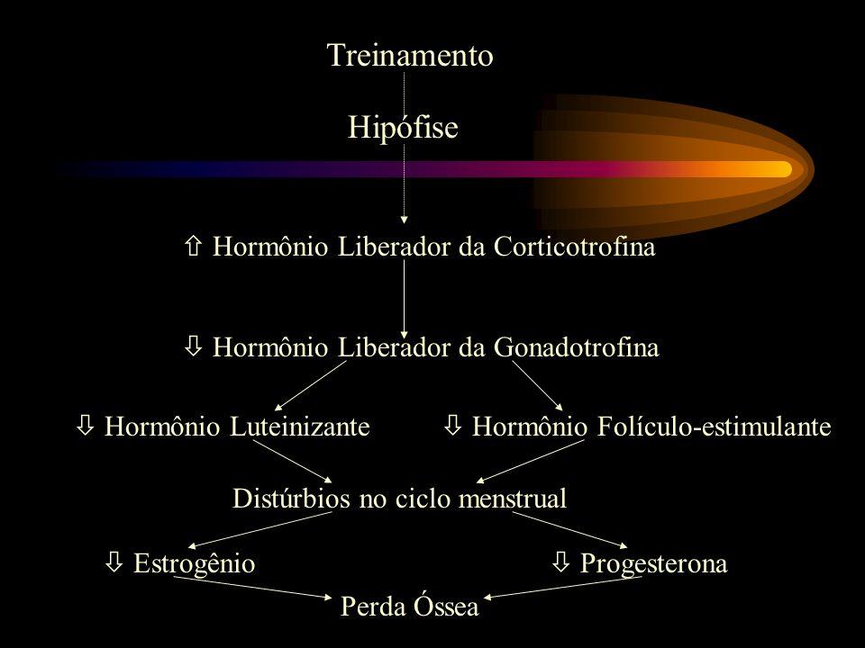 Treinamento Hipófise  Hormônio Liberador da Corticotrofina